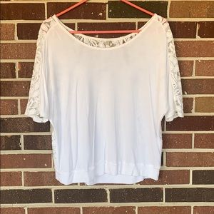 Express Lacy Floral Top